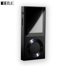 BENJIE-T6 HiFi MP3 плеера 1,8 «экран TFT Полный цинковый сплав без потерь HiFi MP3 музыкальный плеер Поддержка DSD/Bluetooth/AUX