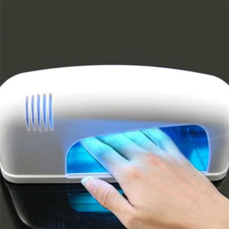 Nails Art & Tools Nail Dryers 220v-240v Nail Tools Nail Dryer For Curing Nails Arts With 1pcs 365nm Uv Bulb Active Nail Gel Uv Lamp 9w ~12 W