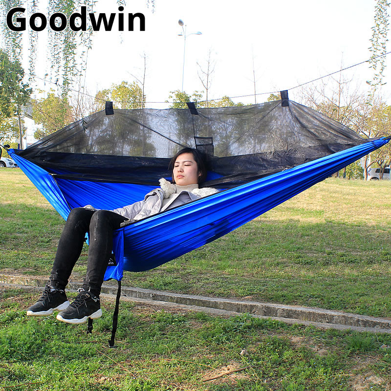 Lazybed Hammock With Mosquito Parachute Hammock Mosquito