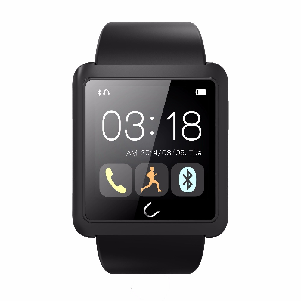 ZAOYIEXPORT Bluetooth 4.0  Smart Watch U10 with Camera Touch Screen Anti-lost  for IOS xiaomi Sumsung Android PK F69 GT08 DZ09 zaoyiexport bluetooth 4 0 smart watch u10 support camera anti lost smartwatch for iphone xiaomi sumsung android pk u8 gt08 dz09