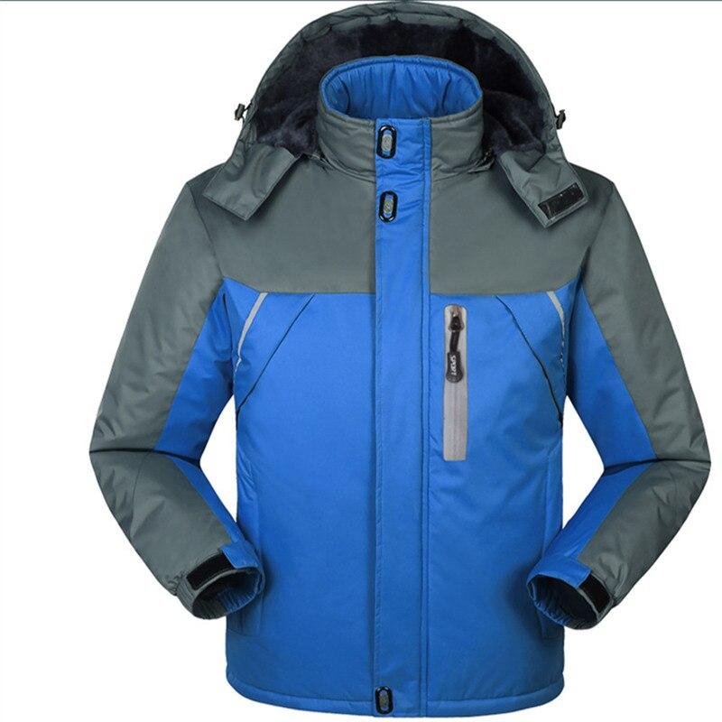 Sports Hommes Tourisme D'hiver Jaqueta Mode Imperméable rouge vent Noir Montagne Vestes bleu Plus Poursuit Veste Camping Coupe Manteau wIqAIr0