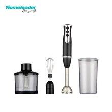 Homeleader 4 IN 1 Hand Blender Smart Stick Variable Speed Blender Mixer Stainless Steel K39-038 Food Processor for Household