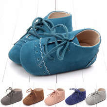 England Wind Chalaza Baby Shoe 0-12 Individual Month Baby Soft Bottom Shoes Indoor Study Walking Shoes 0896