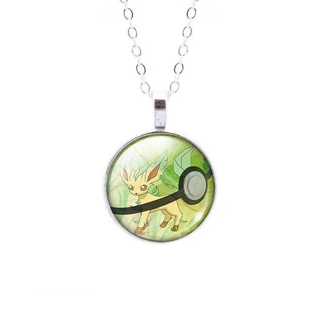 Pokemon Eevee Cabochon Necklace
