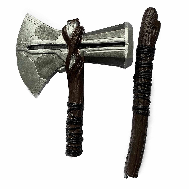 Endgame Cosplay Thor Stormbreaker Ascia 1:1 Thor Ascia Cosplay Figura Armi Modello di Halloween Ruolo in Un Film di Gioco