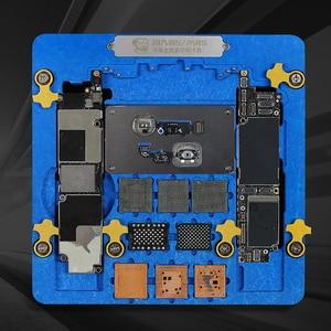Image 3 - MECHANIC 5/MR5 Multifunctional Motherboard Fixture CPU NAND Fingerprint Repair PCB Holder For iPhone XR 8P 8 7P 7 6SP 6S 6 5S 5G
