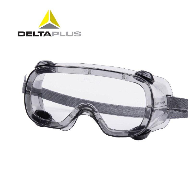 Deltaplus 101124 Sicherheit Schutzbrille Brille Transparente Pc Anti-splash Anti-auswirkungen Industrielle Staubdicht Winddicht Brillen