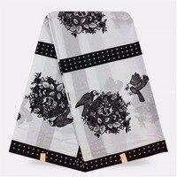Nigeriano tecidos para costura de roupas africano ancara holandês hollandis verdadeira cera tecido de algodão super wax imprimir 6 yards/peça! Y-138