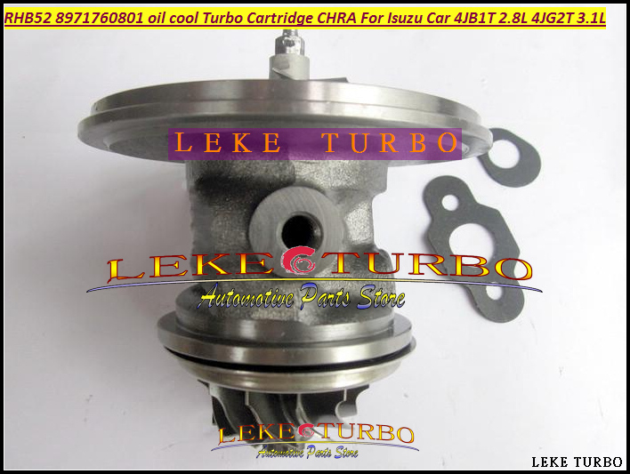 Free Ship Turbo Cartridge Chra Core Oil cooled RHB5 VA190013 VICB 8971760801 Turbocharger For ISUZU MIKADO 4JB1T 2.8L 4JG2T 3.1L free ship turbo rhf5 8973737771 897373 7771 turbo turbine turbocharger for isuzu d max d max h warner 4ja1t 4ja1 t 4ja1 t engine
