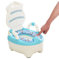 Winter New Children's Toilet Urine Seat Stool Circle Large Drawer style Toilet Baby Child Training Seat Toilet Potty With Brush