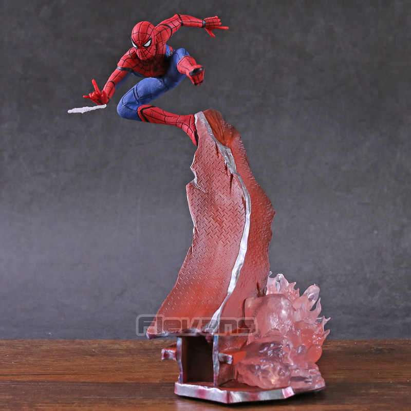 Spider-Man Spiderman do Regresso A Casa 1/10 Scale PVC Estátua Figura Collectible Toy Modelo