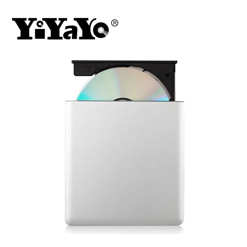 Արտաքին DVD սկավառակ YiYaYo USB 3.0 CD / RW այրիչ - Համակարգչային բաղադրիչներ - Լուսանկար 5