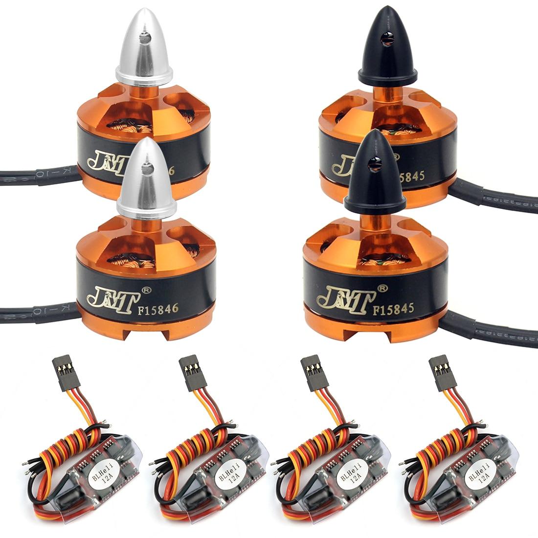 FPV course Drone moteur ESC Combo BLHeli 12A ESC 1806 2400KV moteur pour quadrirotor RC Racer