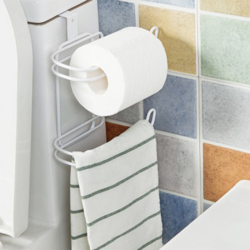Practical kitchen bathroom organizer toilet paper holder for A bathroom item that starts with g