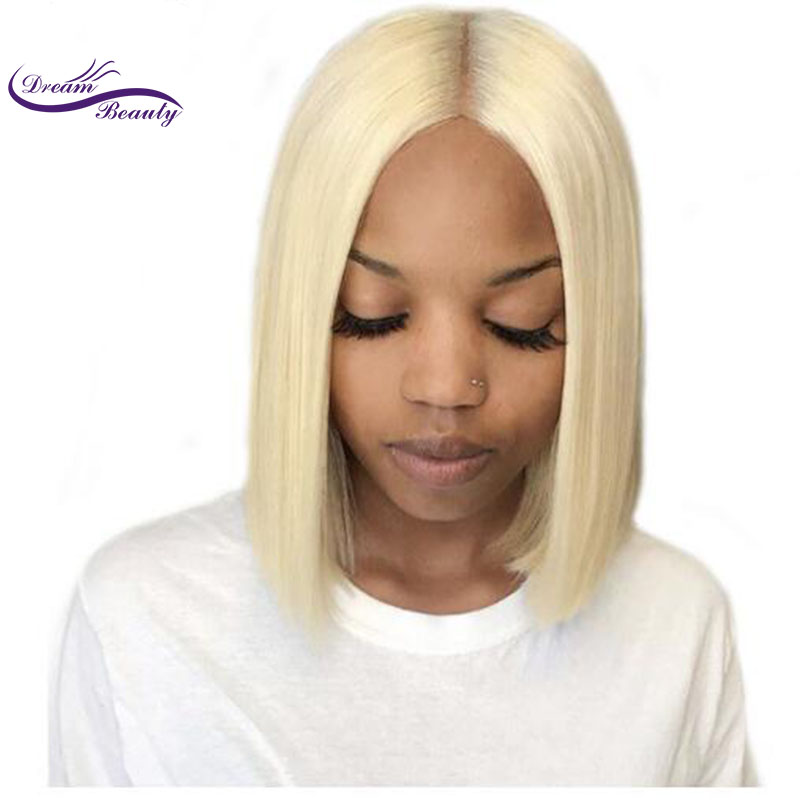 Clearance Iterm Brazilian remy Hair Wigs 613 Blonde 13x6 long deep middle part Lace Human Hair