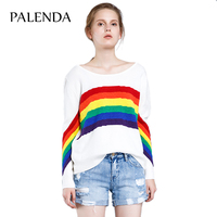 spring hot new rainbow sweater sweet sunshine