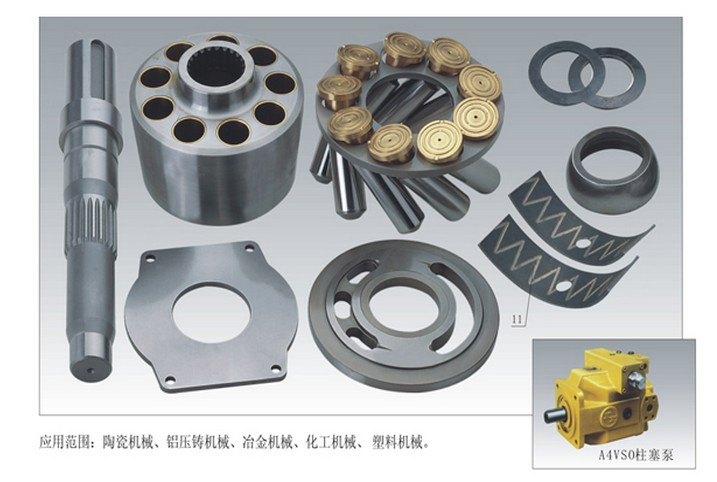 Rexroth Repair kit Hydraulic Piston Pump Parts A4VSO56 cylinder block retainer plate spare parts