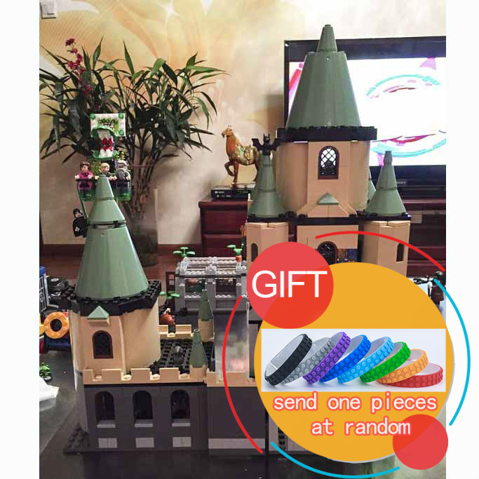 NEW BLOCKS 16029 1033Pcs Movie Series The magic hogwort castle set Children Educational Building Model Gift 5378 toys lepin dayan gem vi cube speed puzzle magic cubes educational game toys gift for children kids grownups