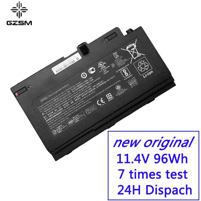 GZSM Laptop Battery AA06XL For HP Zbook 17 G4 2ZC18ES Battery For Laptop G4 1RR26ES HSTNN DB7L 852527 242 Laptop Battery