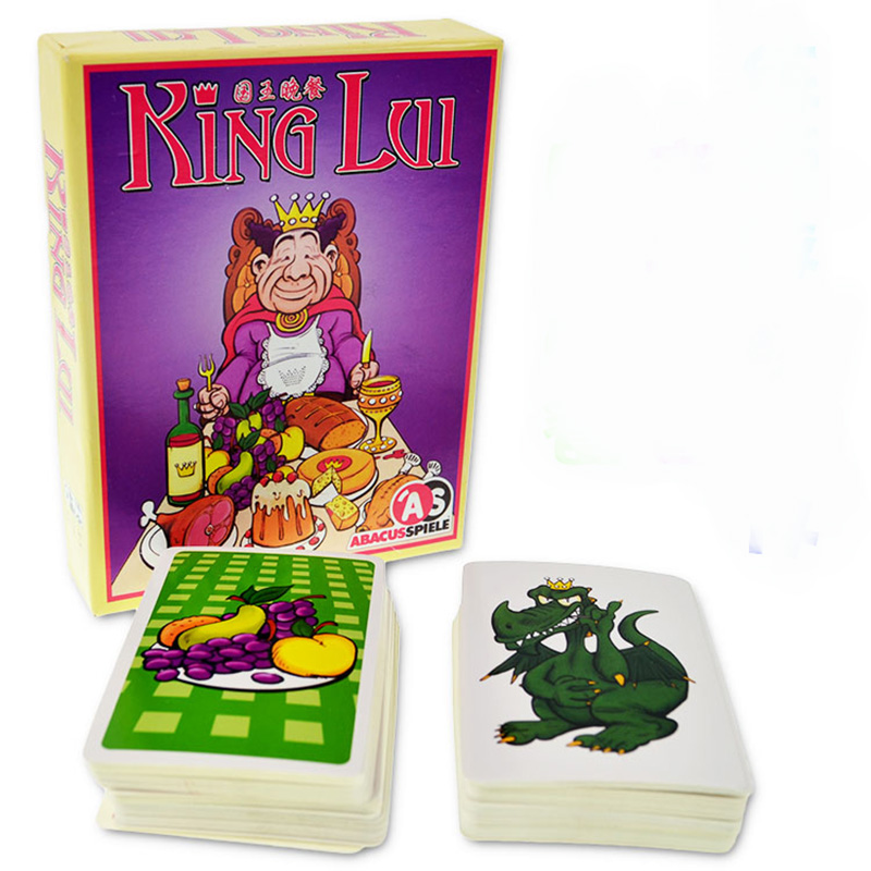 King Lui Board Game 3-5 Players to Play Best Gift Family/Party/Friends Funny Puzzle Cards Game