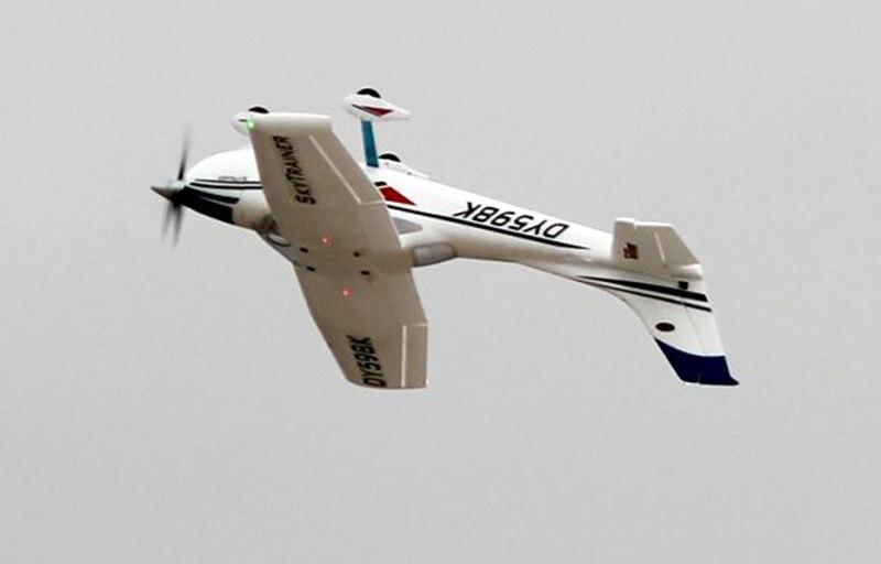 Dynam 1.3 M Cessna182 Sky Trainer Propeller RC PNP/ARF Vliegtuig W/Motor Servo ESC W/O batterij TH03615-in RC Vliegtuigen van Speelgoed & Hobbies op  Groep 3