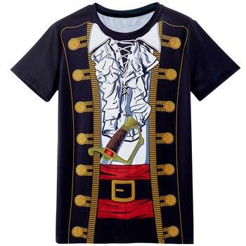 Police Pilot Pirate Tuxedo Prisoner 3D Funny T Shirt18