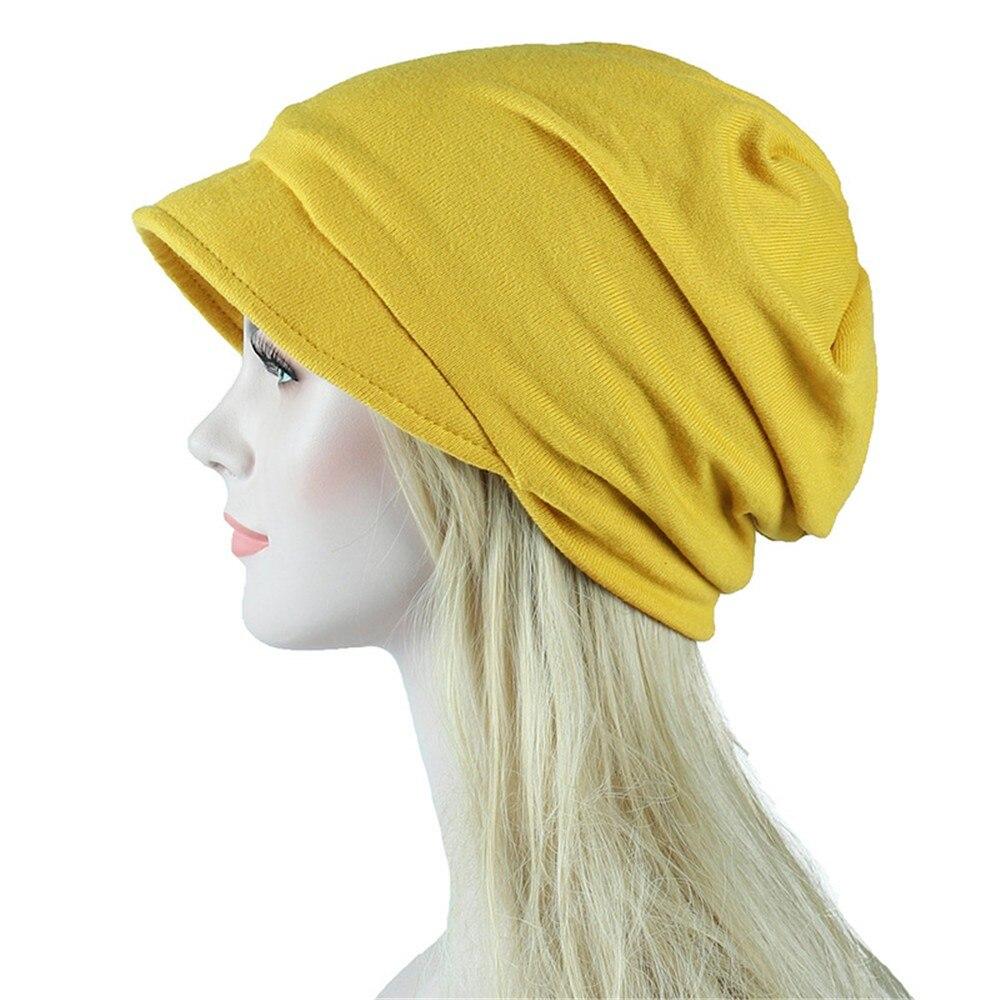 1PC New Women Elastic Turban Hat Muslim  Islamic Jersey Cancer Chemo Cap Ladies  Stretch Head Wrap Head Scarf 4.11