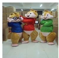 2016 Hot Sale ! New Alvin and the Chipmunks Mascot Costume Alvin Mascot Costume Free Shipping