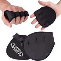 Gewichtheben Training Handschuhe Workout Grips Frauen Männer Fitness Sport Powerlifting Gym Grip Hand Palm Schutz Handschuhe