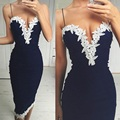 Cheap-Clothes-China!!2017 Newest Women Lace Dress Ladies Sexy Wrapped Chest Sleeveless Dress Vestidos Femininos Best Top Quality
