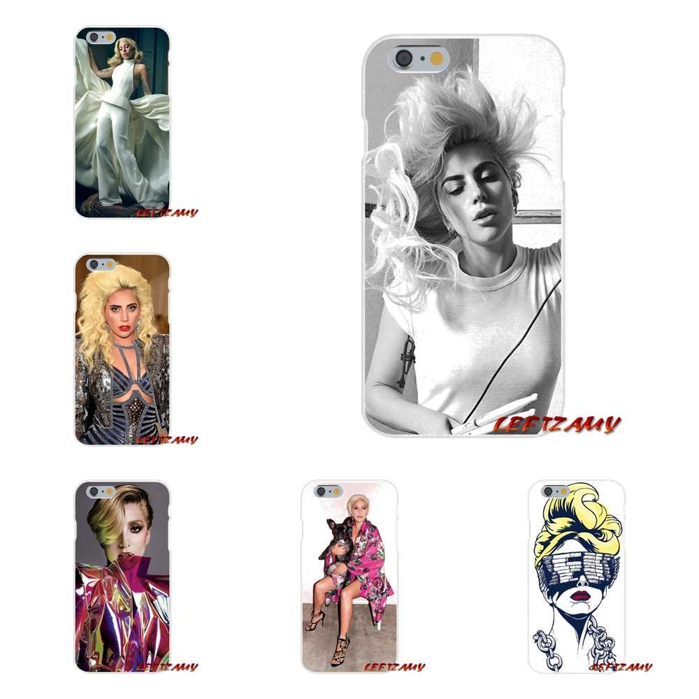 Popstar Lady Gaga For Apple iPhone X XR XS MAX 4 4S 5 5S 5C SE 6 6S 7 8 Plus ipod touch 5 6 Accessories Phone Cases Covers