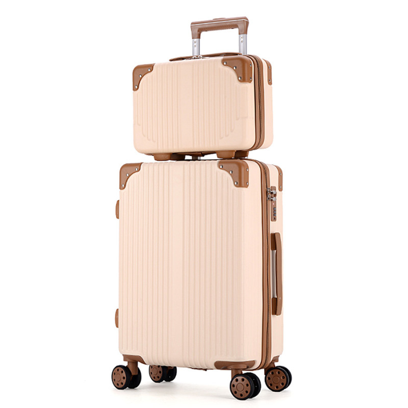 Rolling Travel Luggage Bag with Handbag,Women Suitcase with Cosmetic Bag,Wheel Trolley Case,ABS box Set Rolling Travel Luggage Bag with Handbag,Women Suitcase with Cosmetic Bag,Wheel Trolley Case,ABS box Set