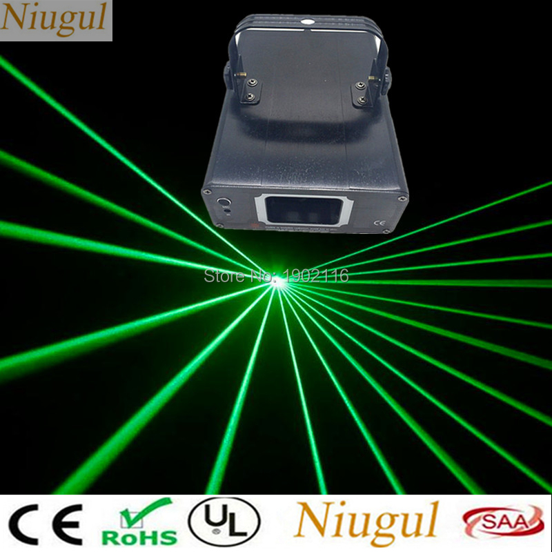 Niugul 100mw Green Laser Stage Lighting/DMX512 Scanner Stage Light Laser Projector /DJ Disco Party Show Lights Linear Beam Laser hot sale new stage light 50mw green 200mw red laser 150mw yellow laser 100mw blue laser dj equipment for disco