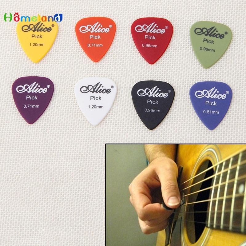 50Pcs Acoustic Electric Guitar Picks Plectrum Plectra Various Durable Hot Sale Jul4_25