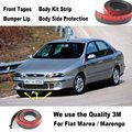 Car Bumper Lips For Fiat Marea / Marengo / Spoiler For Car Tuning / Body Kit Strip / Front Tapes / Body Chassis Side Protection