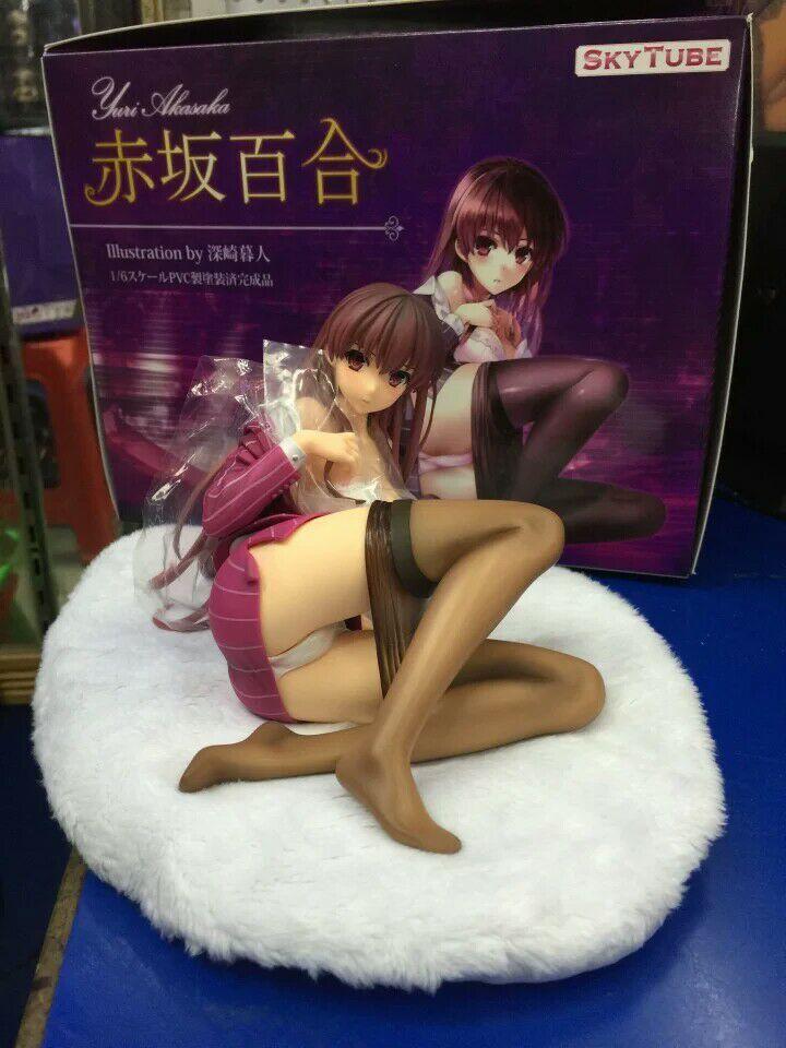 ФОТО Wholesale 18pcs/carton 1/6 scale Akasakayuri Misaki Kurehito Comic Matsuri Fuyutsuki Togetsu Cast Off pvc figure toy via EMS.