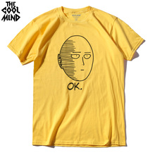 One Punch Man Printed Men Comfortable Tshirt