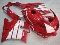 for Honda Cbr600 1991 1994 Body Kits CBR 600 F2 1991 Fairings CBR600 F2 91 92 White Red Fairing Kits