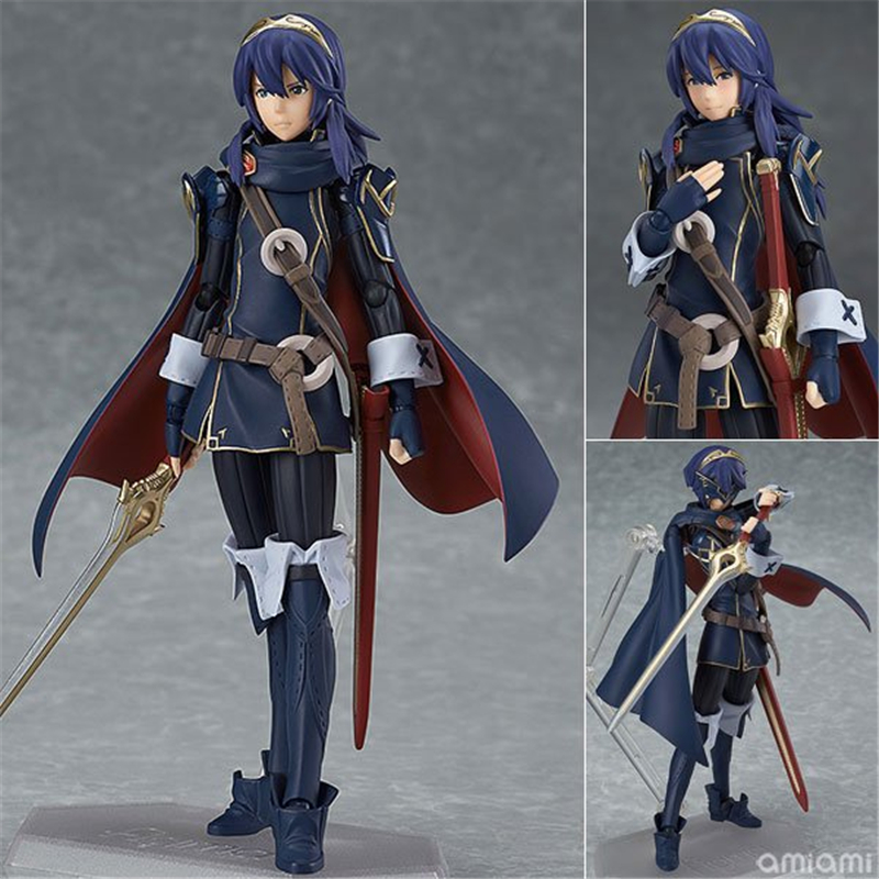 Fire Emblem Awakening Figma 245 Luqina PVC Action Figure Collectible Model Kids Toys Doll 14cm