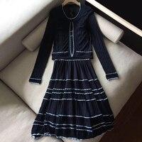 Комплект из 2 предметов, женское платье, коллекция 2019 года, весенне летний комплект одежды для женщин, комплект одежды из двух предметов, эле