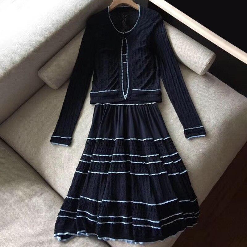 2 pièces robe ensemble femmes 2019 printemps été robe ensemble pour femmes robe ensembles deux pièces élégante robe et hauts de haute qualité