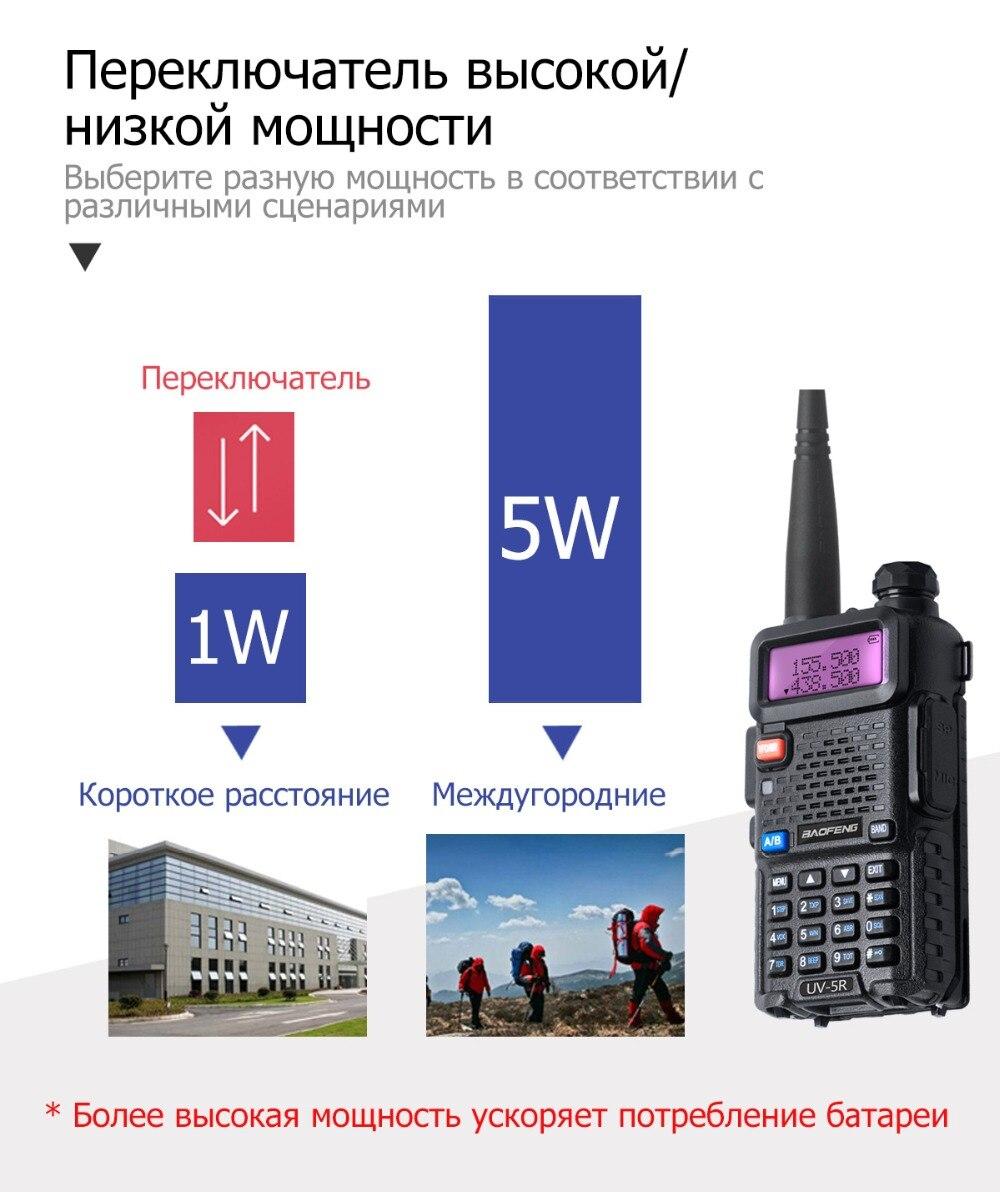 Baofeng uv 5r рация профессиональная cb радиостанция baofeng