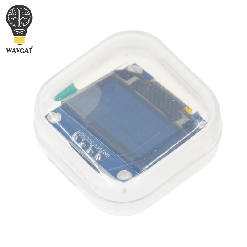 Free Shipping 1Pcs Yellow blue double color 128X64 OLED LCD LED Display Module For Arduino 0.96 I2C IIC Serial new original free shipping 1pcs yellow blue double color 128x64 oled lcd led display module for arduino 0 96 i2c iic serial new original