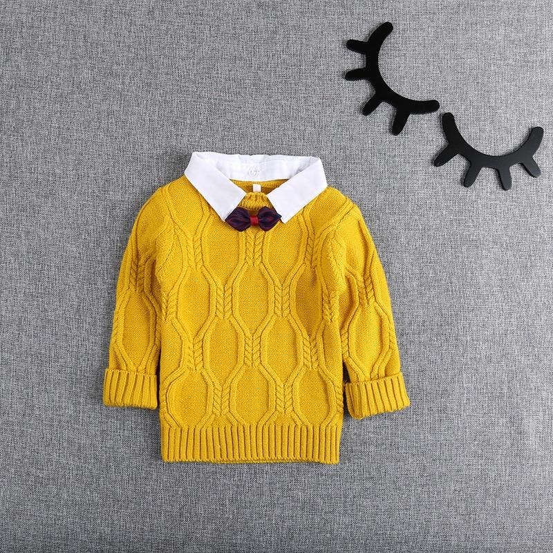 Autumn-Winter-Knitting-Baby-Infants-Knitwear-Long-Sleeve-Gentleman-Knit-Boys-Bow-Sweater-Outwear-Pullover-Camisola-Sweater-S5475-3