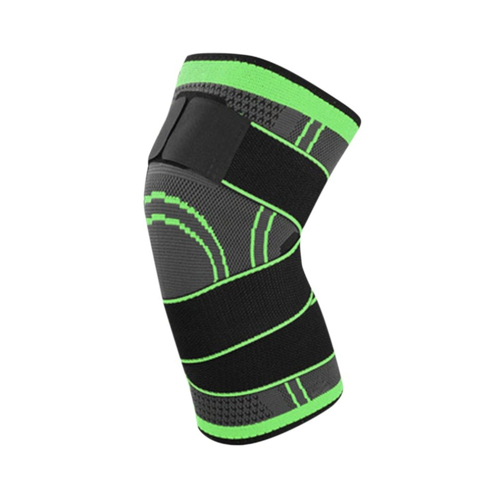 TSAI 3D Pressurized Fitness Running Cycling Bandage Knee Support Braces Elastic Nylon Sports Pad Sleeve Ship Today Hot Sale