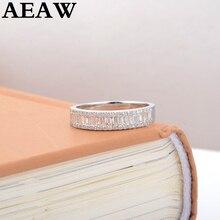 Обручальное кольцо с бриллиантами Halo, классическое 18 К БЕЛОЕ ЗОЛОТО 0,25 CTTW, Настоящее натуральное бриллиантовое обручальное кольцо для женщин