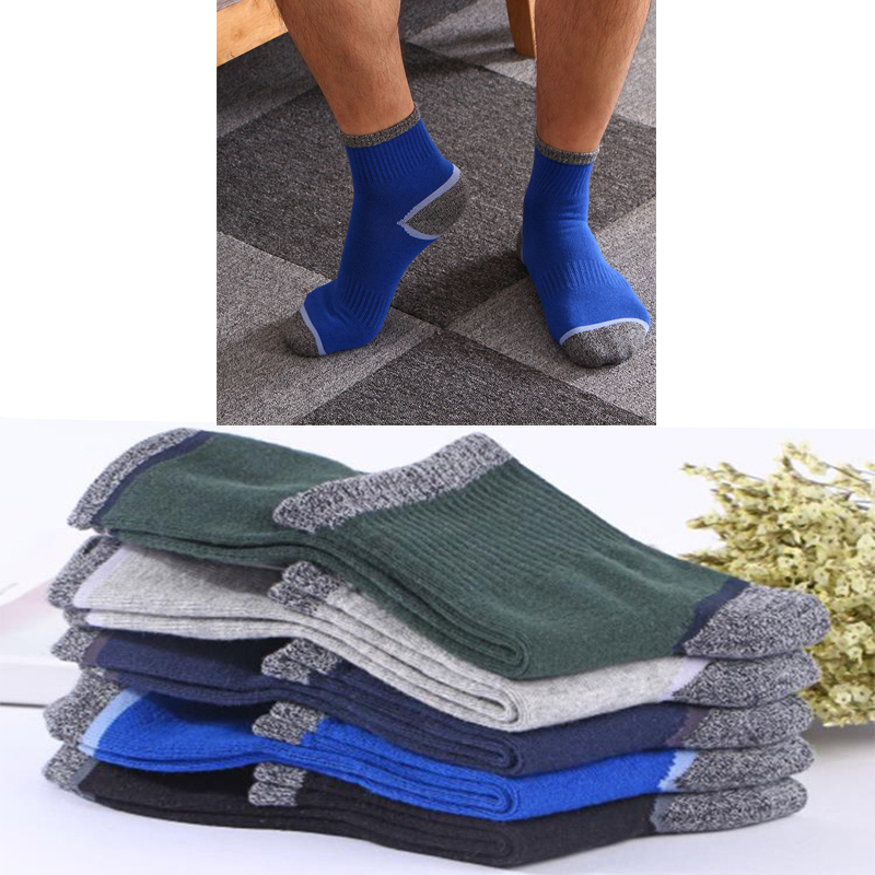 10 Pairs Men's Socks Latest Design Cotton Socks Casual Breatheable Man Long Sports Sock High Quality Colorful Cotton Men Sokken