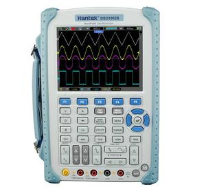 Hantek DSO1062B 2 Channels Digital Multimeter Oscilloscope 60Mhz Bandwidth LCD USB Handheld Osciloscopio 6000 Counts DMM(China)