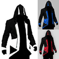 2017 New Assassins Creed Cosplay Costume Ezio Costume Assurance 3 New Kenway Men's jacket anime cosplay Women Halloween costumes