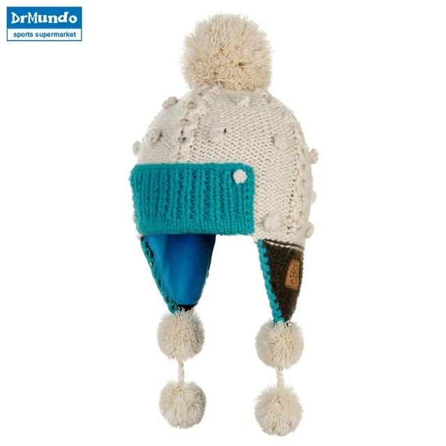 2018 Winter Warm Cap Snowboard For Men Women Ear cap Knitting Skating Skull Cap  Ski Hat Beanies Turtleneck Cap d30b83a72b6